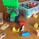 Spielzeug für die Kinderbetreuung